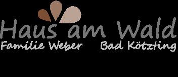 Haus am Wald Weber – Bad Kötzting Logo